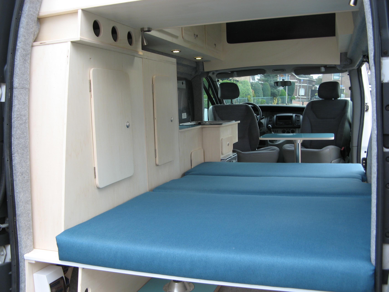 Ford Transit Connect Camper >> Renault Trafic L2 H2 - Uw camper op maat