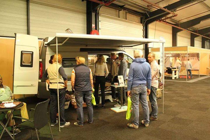 Veel bezoekers gehad op de camperbeurs in Hardenberg.
